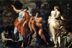 Annibale Carracci: Choice of Heracles (c. 1596)